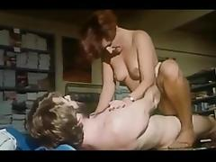 Gorgeous Woman In Uniform From 70's porn tube video