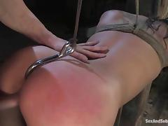 Charming beauty Bianca is under the possession of a crazy dude TJ
