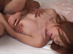 Cute Yui Sarina fuck with small-dicked Yui Hatano