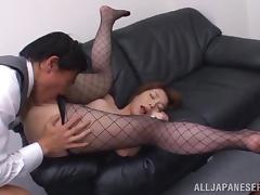 Smoking hot secretary Tamaki gets balled by her boss