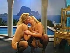 Cum Swapping, Blonde, Blowjob, Cum in Mouth, Facial, Foursome