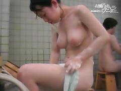 Bathing, Asian, Bath, Bathing, Bathroom, Boobs