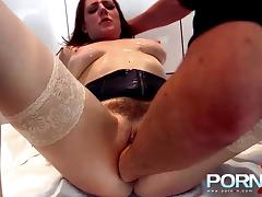 brunette whore fisted hard and deep