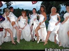 Bride, Amateur, Bride, Compilation, Lingerie, Outdoor