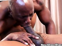 Gay black dudes suck and rim