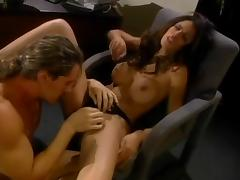Hot Shy Love gets fucked and facialed in the office