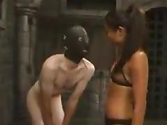 Lucy Lee the Asian mistress tortures and toys Jack porn tube video