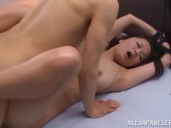 Gagged Asian slut gets nailed in her cunt!
