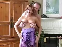 Messy Facial after Hot Blowjob for a Slutty Cum-Craving Cougar