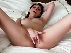POV sex scene with a sizzling redhead babe