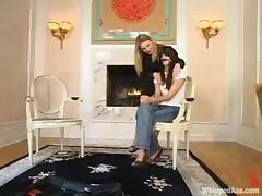 Harmony humiliates and fucks pretty brunette Bobbi Blair porn tube video