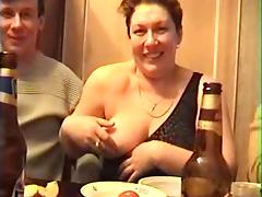 BBW, Amateur, BBW, Group, Orgy, Russian