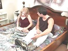Blonde With Natural Tits Experiences Hard Spanking By Her Husband