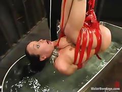 bathing time for julie