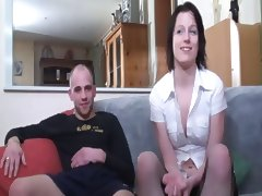 Frenchcasting Babe Cuckold