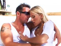 David Perry And Justine Ashley Anal In The Sun