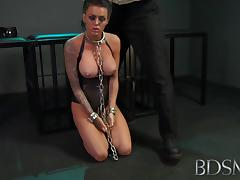 Young, BDSM, Big Tits, Blowjob, Brunette, HD