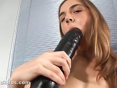 Alissa's Brutal Dildo Sex