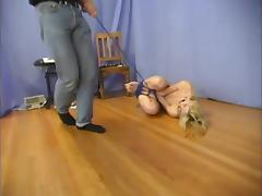 Sensual blond babe is going to live it hard