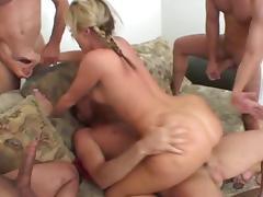 Sophie dee gangbang tube porn video
