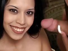 Latina, Facial, Handjob, Latina