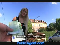 Hardcore outdoor penetration with a sexy blond