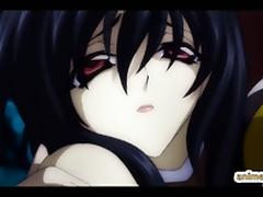 Trapped hentai in spidernet and hot fucked by shemale anime tube porn video