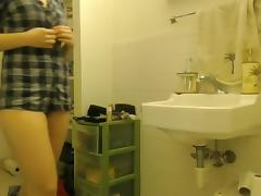 Bathing, Amateur, Bath, Bathing, Bathroom, College