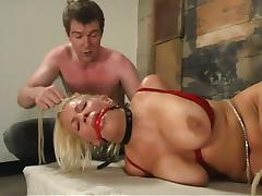 Basement, BDSM, Big Tits, Blonde, Bondage, Boobs