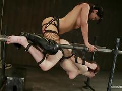 Iona Grace gets unforgettably fucked by Isis Love in BDSM clip
