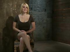 Bound, BDSM, Big Tits, Blonde, Bondage, Boobs