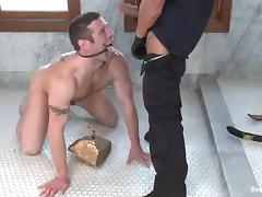 Tyler Saint gets humiliated and fucked by a policeman