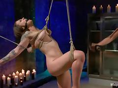 Vivienne Del Rio gets spanked and toyed rough