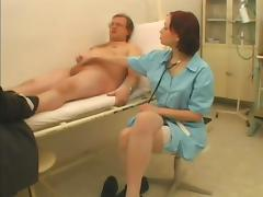 Sex doctor is going to be naughty with a grandpa tube porn video