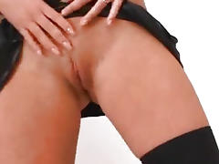 Hot Babe Get Double Penetration On Threesome