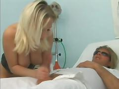 Delicious sex symbol of the hospital gets balled tube porn video