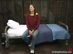 Fucking machine can take a good care of Bobbi Starr tube porn video