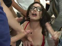 Banging, Banging, College, Gangbang, Group, Orgy