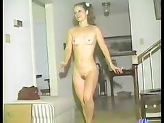 Slim retro girls toy and finger each others pussies porn tube video