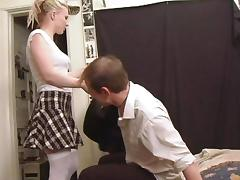 A real dirty sex scene with a horny sex doll