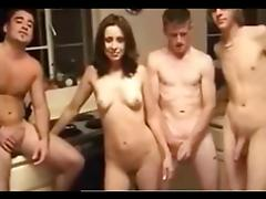 Threesome, Amateur, Group, Orgy, Swingers, Threesome