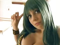Softcore sexy cosplay