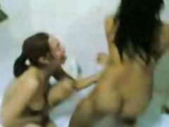 Wild Filipina college girls tube porn video