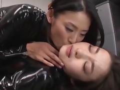 Latex, Asian, Latex, Lesbian
