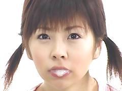 Beauty, Asian, Beauty, Bukkake, Compilation, Facial
