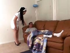 Brunette Nurse is Getting Fucked Hard in Every Position