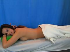 Oral-Service massage episode with fascinating honey