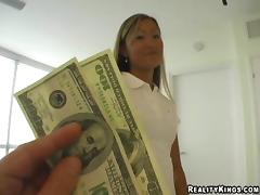 Asian, Asian, Couple, Money, POV, Reality