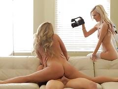 Katerina Kay fuck with Skylar  Green and her friend