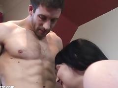 Boyfriend, BBW, Big Cock, Big Tits, Blowjob, Boobs